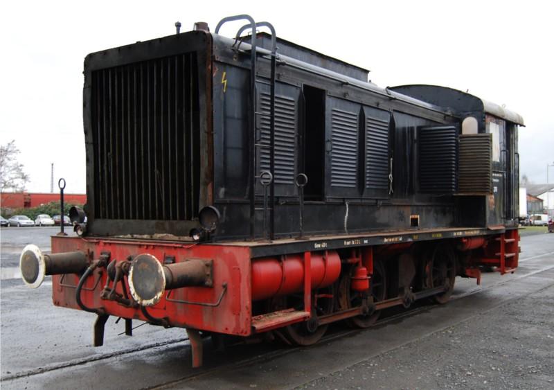 Neuzugang: Die Diesellok V36 276